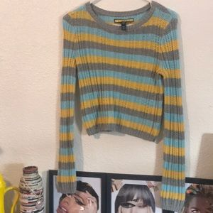 Striped vintage style sweater